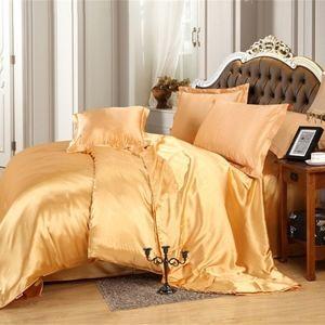 Luxurious ultra-soft Satin 7 piece Duvet Set QUEEN
